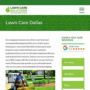 Lawn care solutions - Dallas