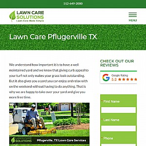 Lawn Care Solutions - Pflugerville