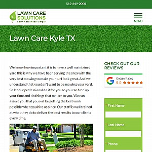 Lawn Care Solutions - Kyle