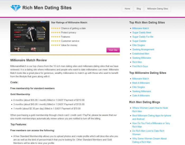 "rich creek dating site 11 best ""rich men"" dating sites — (that are 100 here are our 11 best rich men dating sites lookingforarichman is one of our favorite dating sites for."