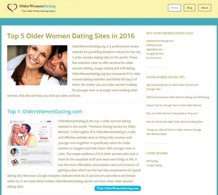 mature woman online dating sites Evidence shows more ladies are embracing their inner cougar when it comes to dating, there's an unscientific, but prevailing opinion that older men want younger women and vice versa.