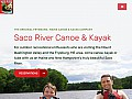 Maine canoe rentals, mount washington valley, new england kayaking
