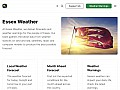 Essex weather forecast, local weather report, severe weather advisories